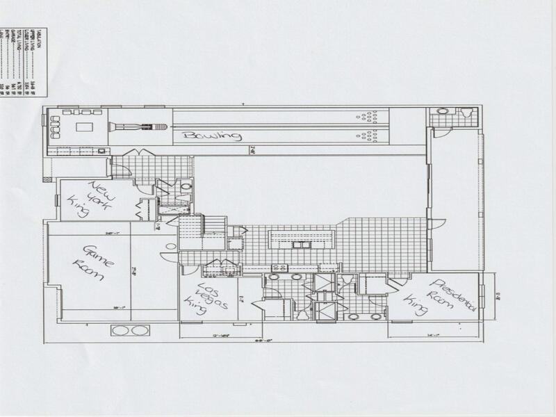 Floor Plan for 14 Bedroom Fantastic Villa